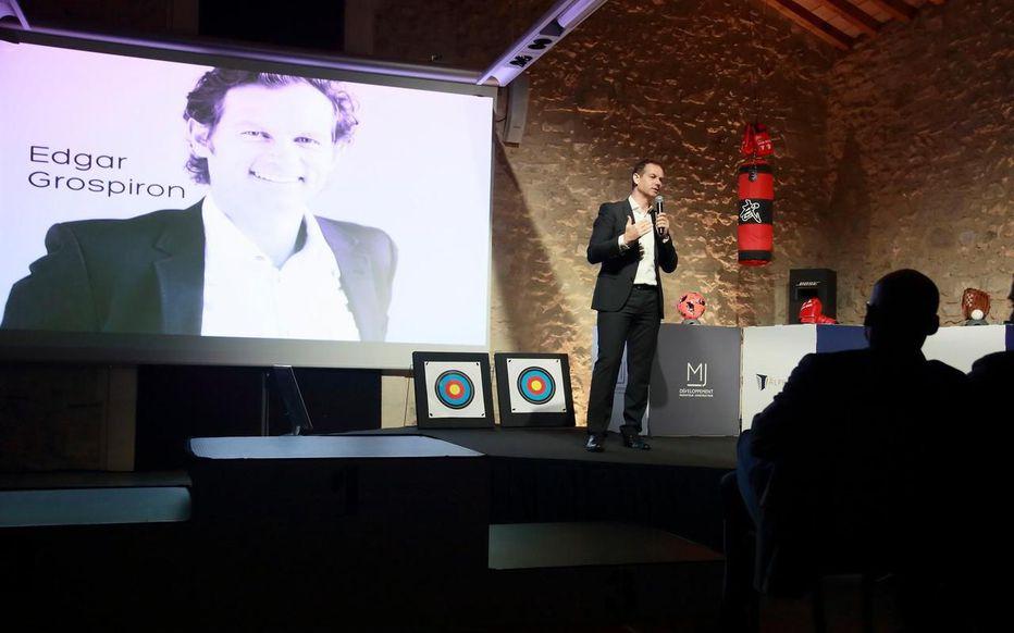 Edgar Grospiron - Performance, motivation et innovation